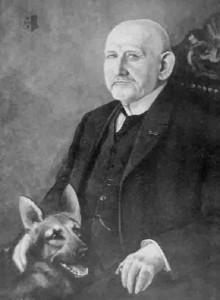 Создатель породы немецкая овчарка Макс фон Штефаниц