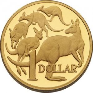 Кенгуру на монетах Австралии