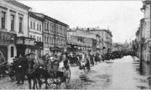 Улица Балчуг.Наводнение.