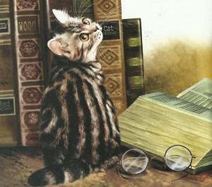 Работа кошек