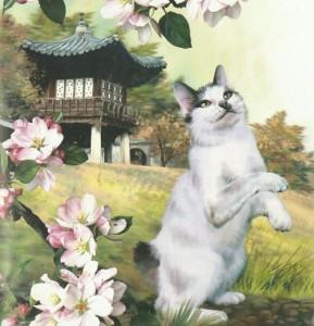 Кошка пришла в Японию