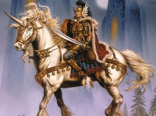 Единорог и благородный рыцарь