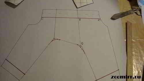 Уменьшаем длину лап и закругляем плавной линией углы