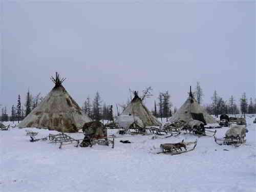 Жилище коренных народов Севера-чум