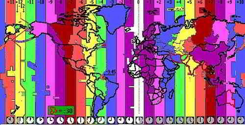 Временные пояса мира