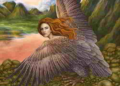 Гарпия из мифов