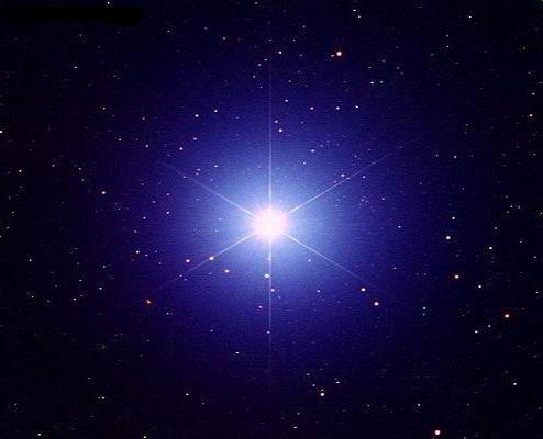 Самая яркая звезда Сириус