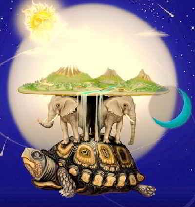 Земля покоилась на трех слонах и