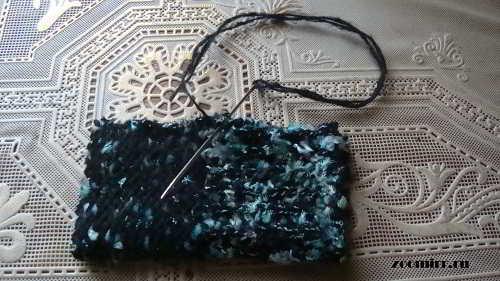 Сшиваем рукав с изнанки
