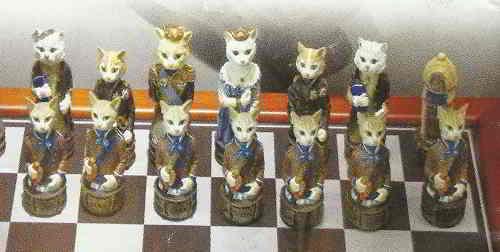 В музее кошек