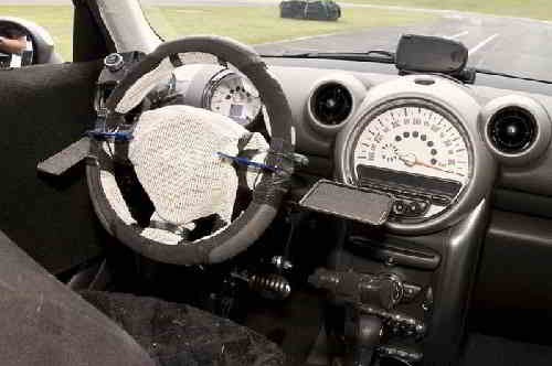 Специально оборудованный салон автомобиля