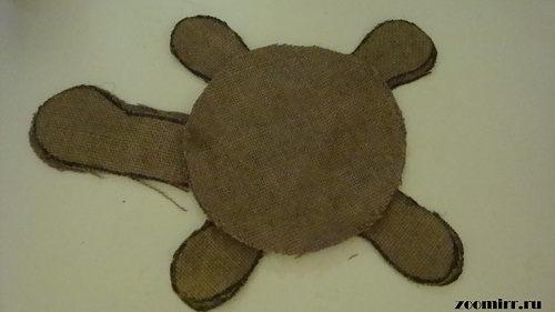 Заготовки для черепашки Манечки