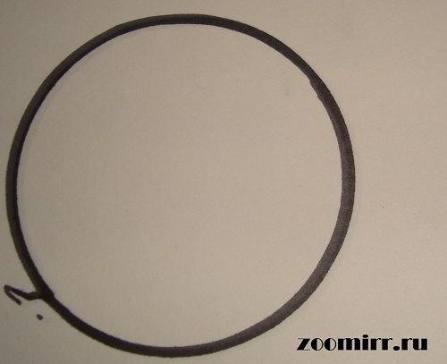 Чертим круг