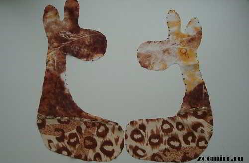Игрушка жираф.Заготовки