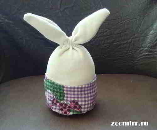 Надеваем штанишки на зайца