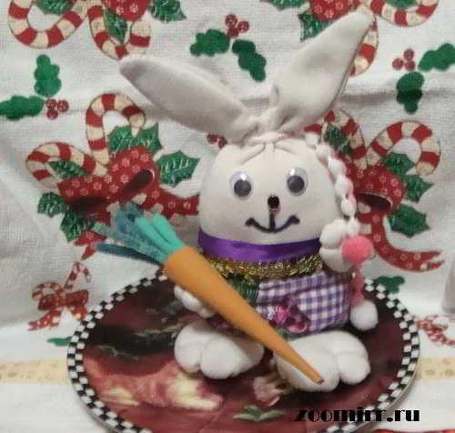 Как сшить зайца