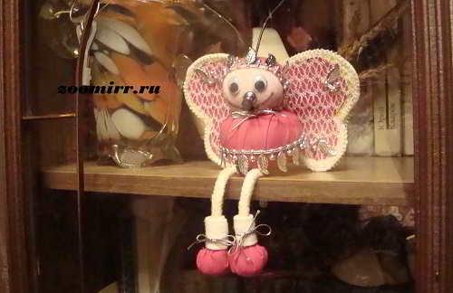 Бабочка-толстушка