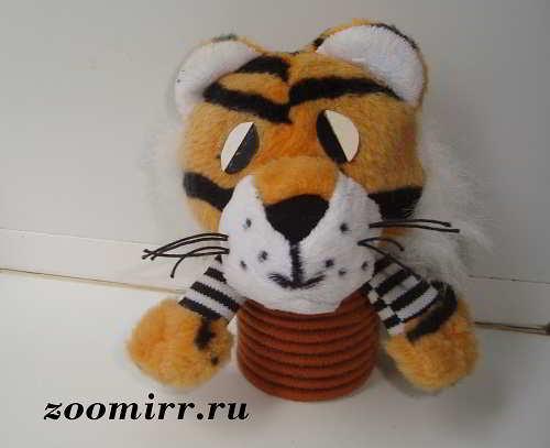 Незаконченная игрушка -тигр