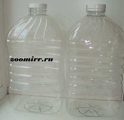 Берем 2 бутылки
