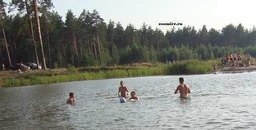 Поход на озеро