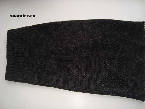 Рукав свитера