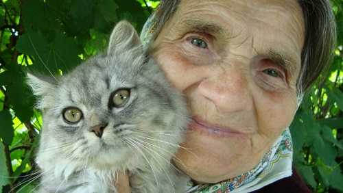 Сеня с бабушкой Наташей